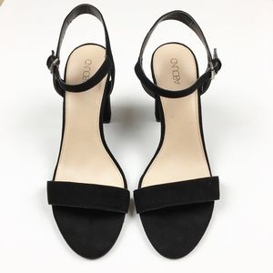 152fa574feb Abound Shoes - Abound Steph Faux Suede Block Heel Sandal. NWOT 10